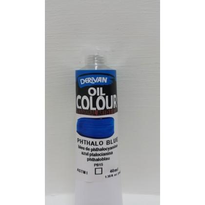 Derivan Oil Colour phthalo Blue 40ml