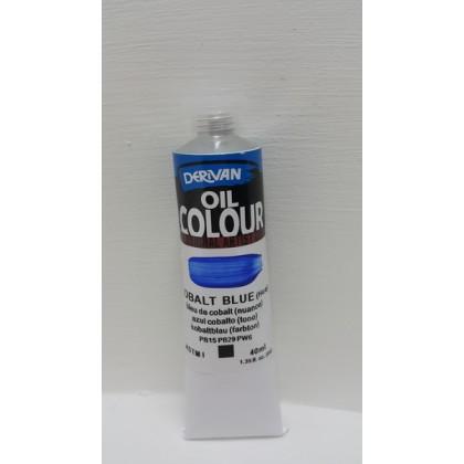 Derivan Oil Colour Cobalt Blue 40ml