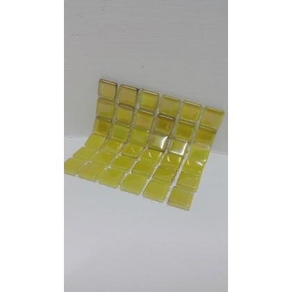 Crystal Glass Summer Fun 15x15x4mm