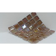 Crystal Glass Chestnut 15x15x4mm