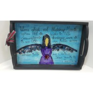 Assorted Painted Angel Tray Afrikaans