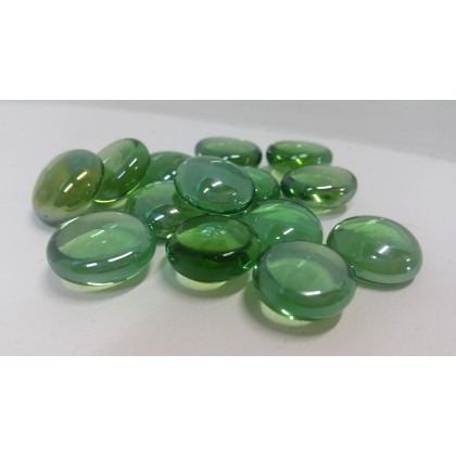 Large Pebbles Mid Green