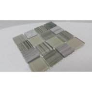 Glass & Natural Stone MSDh426 ,23x23x4mm