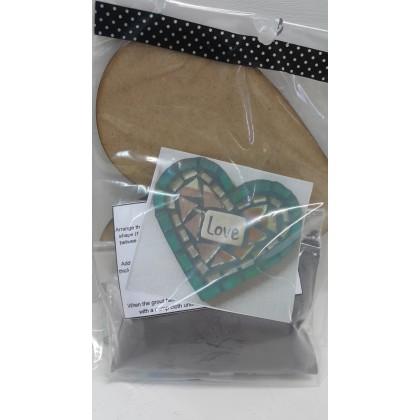 Mosaic Kit Heart 1