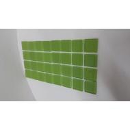Crystal Class Lime Green 23x23x4mm