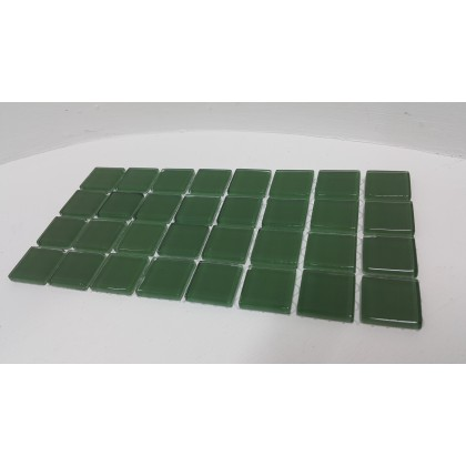 Crystal Glass Dark Green