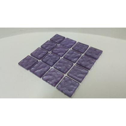 Metalic Texture Lilac 23x23x4mm