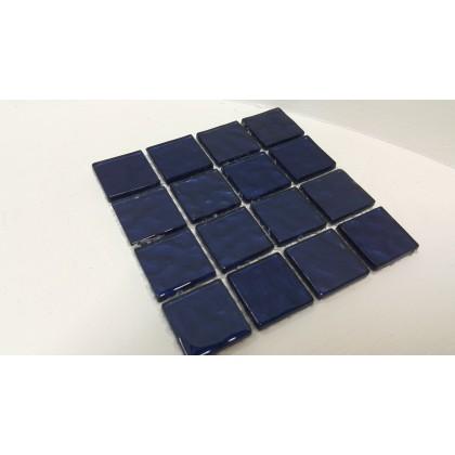 Metalic Texture Midnight Blue 23x23x4mm