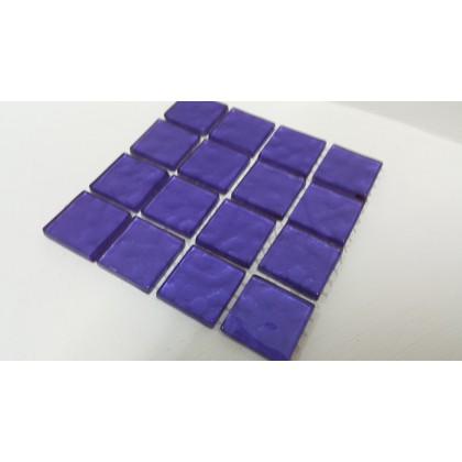 Metalic Texture Purple 23x23x4mm