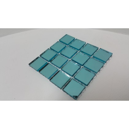 Mirror Mosaic Sky Blue 23x23x4mm