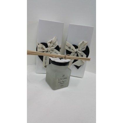 Reed Diffuser Perfume with Rose lid