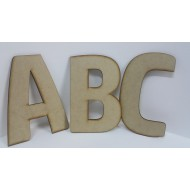 Large Assorted Alphabet letters 18 cm