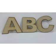 Medium Assorted Alphabet letters 7 cm