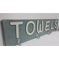 Wooden Towels Hook 1