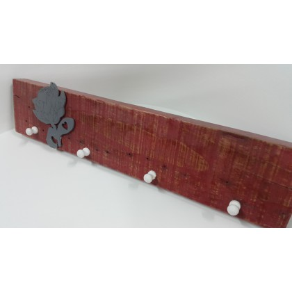 Towel Hook Board Crimson