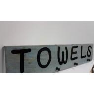 Wooden Towels Hook 2