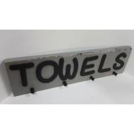 Wooden Towels Hook 3