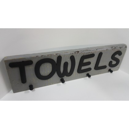 Wooden Towels Hook 3