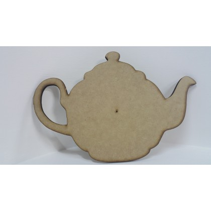 Wooden Cutout Tea Pot 29 x 21 cm