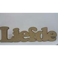 Wooden Cutout Liefde 53 cm