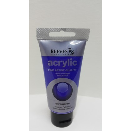 Reeves Acrylic Paint Ultramarine 75 ml