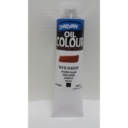 Derivan Oil Colour Red Oxide 40ml