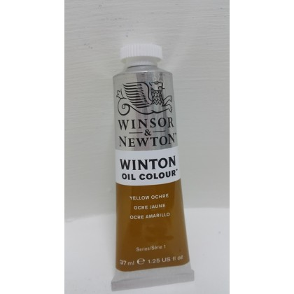 Winsor & Newton, Winton Oil Colour Yellow Ochre 37ml