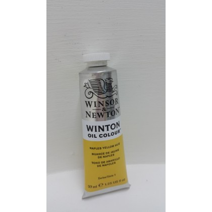 Winsor & Newton, Winton Oil Colour Naples Yellow Hue 37ml