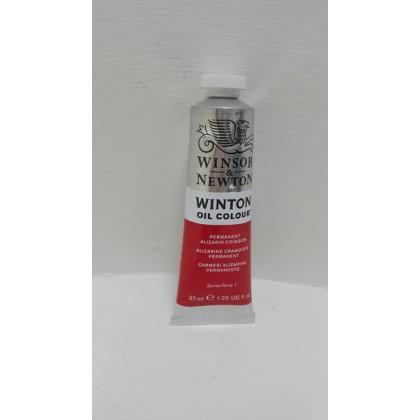 Winsor & Newton, Winton Oil Colour Permanent Alizarin Crimson 37ml