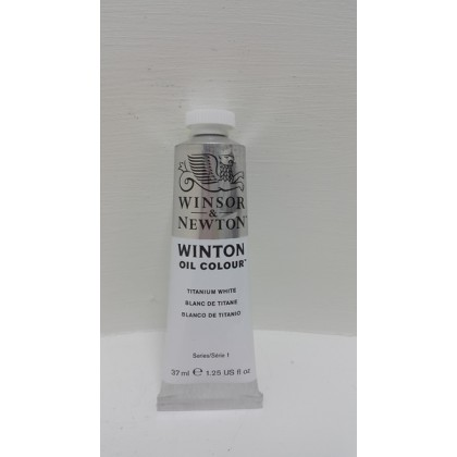 Winsor & Newton, Winton Oil Colour Titanium White 37ml