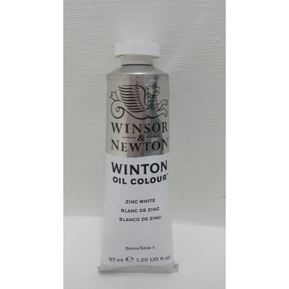Winsor & Newton, Winton Oil Colour Zinc White 37ml