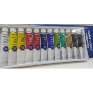 Reeves Water Colour 12 Tubes 12ml