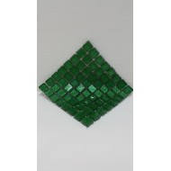 Glitter Dark Green 10x10x4mm
