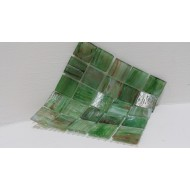 River Mix Green 18x18x4mm